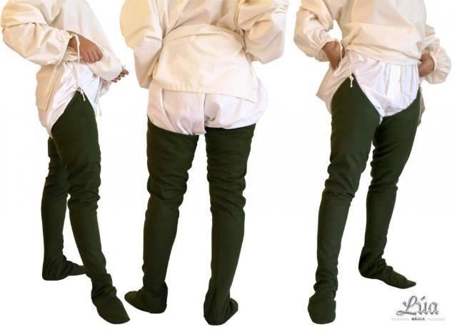 Calzons, calzas, calçes Calzas