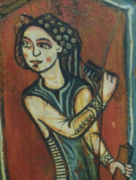 Una Crespina femenina Cofiaartesonado