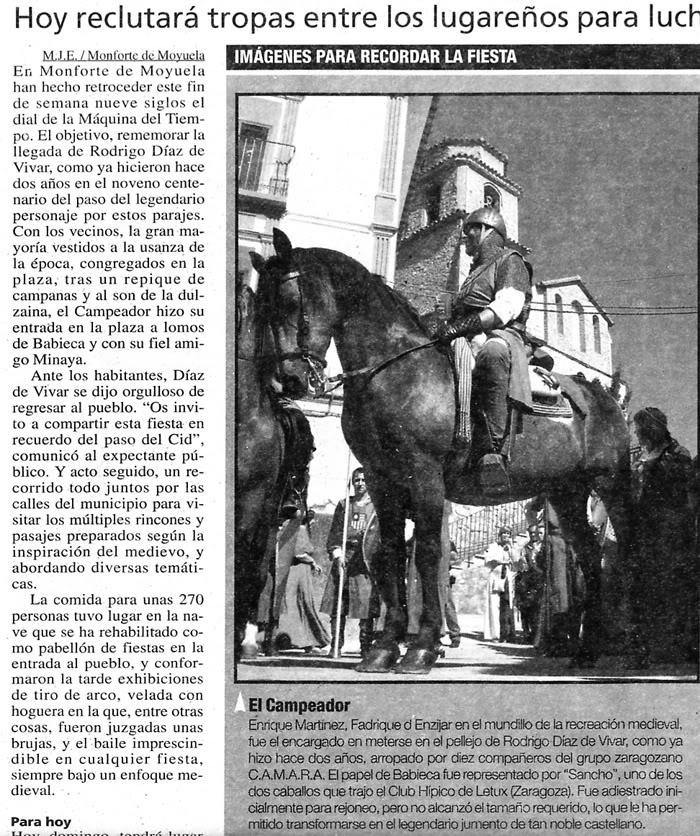 Monforte de Moyuela -LLEGADA DEL CID-- Monfortedemoyuela-1-1