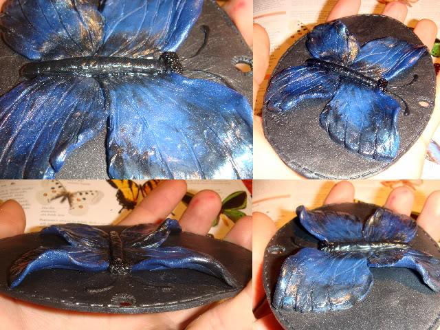 Le farfalle Collagefarfallablu