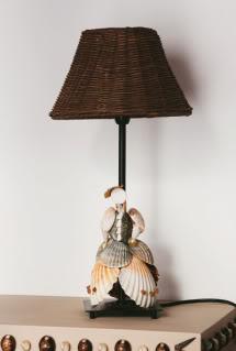 Lampade PiedLampeCoquillage011