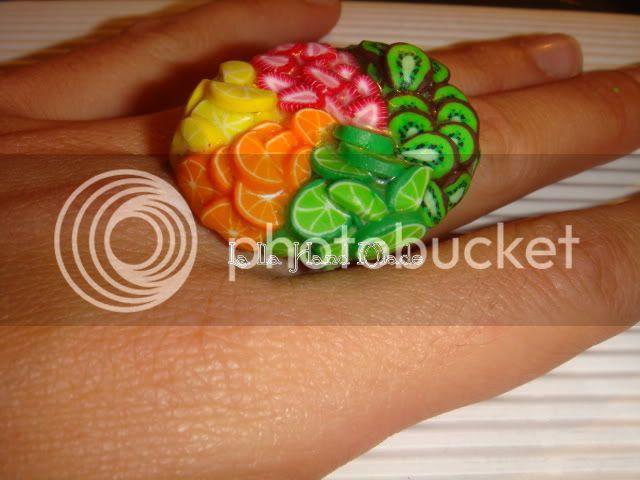Tutti i frutti, anello Anelloindossato