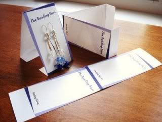Espositore - Orecchini Homemadeearringcards