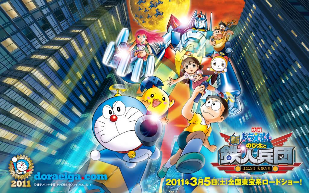 Doraemon Movie 2011: Shin Nobita và binh đoàn robot - Thiên thần vẫy cánh Dm2011wp_03w