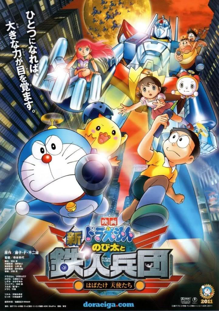 Doraemon Movie 2011: Shin Nobita và binh đoàn robot - Thiên thần vẫy cánh O0800113611010602474