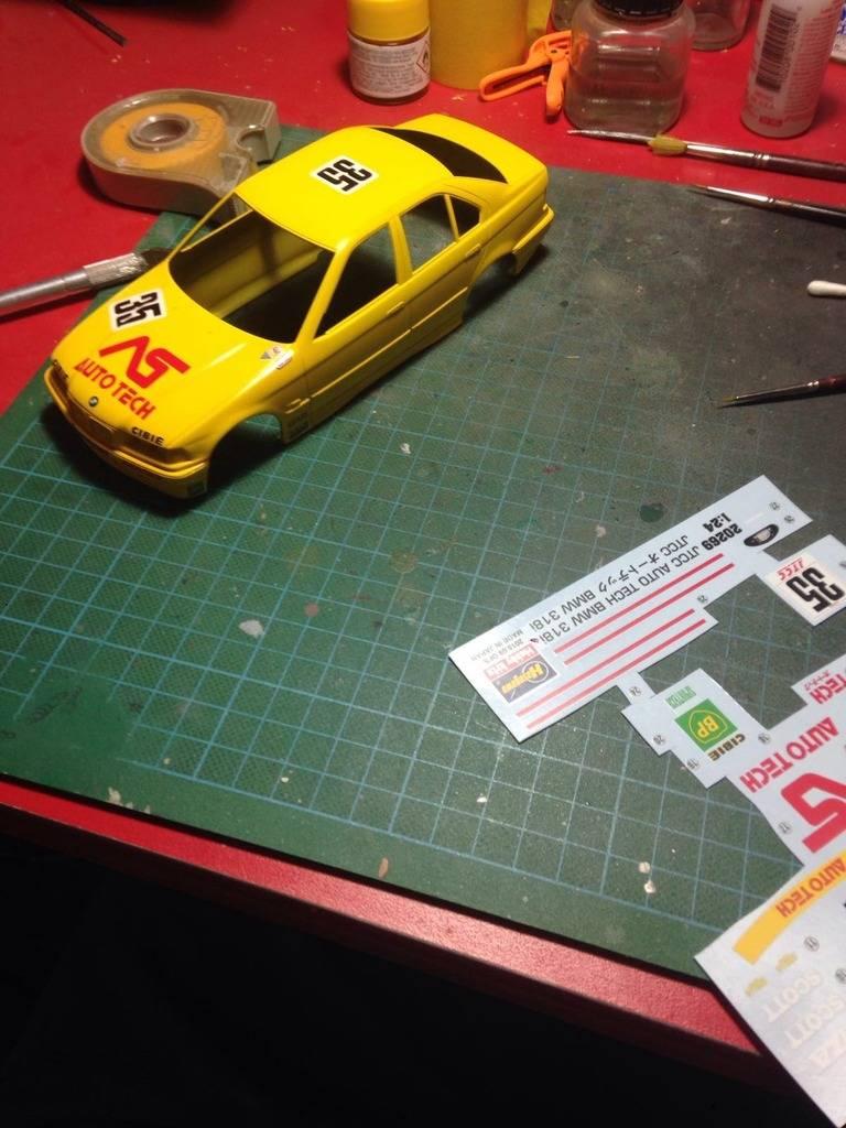 BMW 318i JTCC auto tech - hasegawa 4A94335C-5695-46E2-A1C4-90CA24A5832A