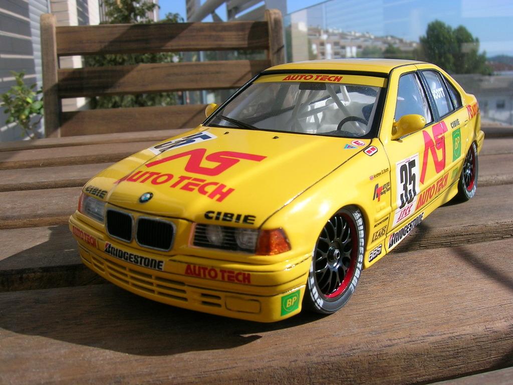 BMW 318i JTCC auto tech - hasegawa DSCN8110
