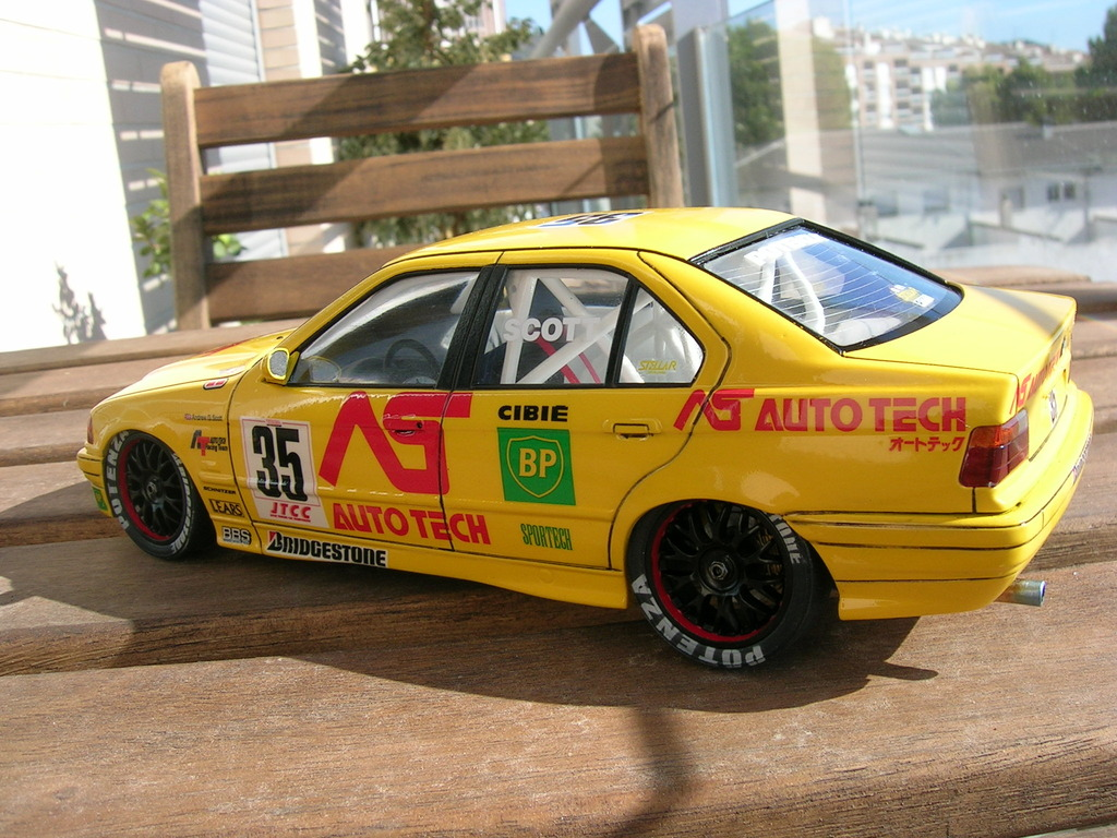 BMW 318i JTCC auto tech - hasegawa DSCN8111