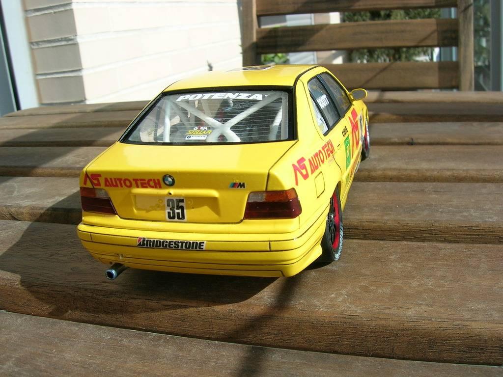 BMW 318i JTCC auto tech - hasegawa DSCN8113