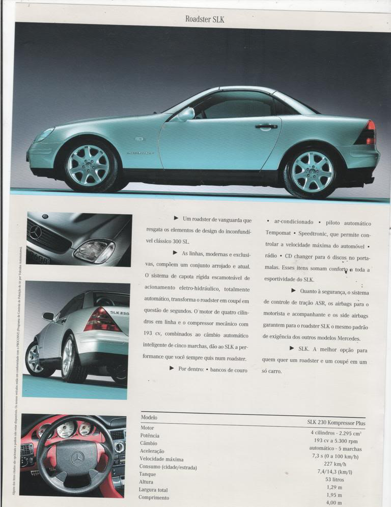 Catalogo Vendas Brasil - SLK R170 - 1996 a 2004 SLKcatPTpic002