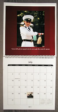 NEW!  PYONGYANG TRAFFIC GIRL WALL CALENDARS FOR SALE PTG2011calendarMjl200x387