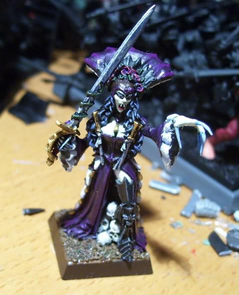 Vampires WIP Clara