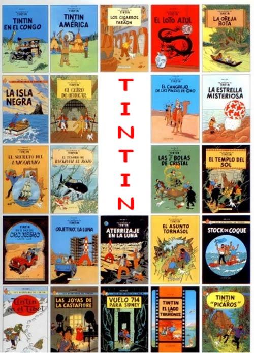 ##TINTIN, colección completa Tintincol