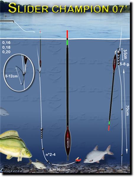 Монтажи при риболова с мач 1