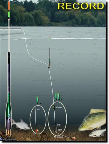 Монтажи при риболова с мач 6