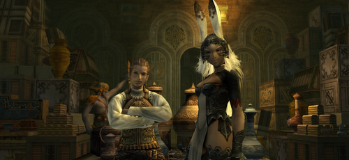 FFXII International Zodiac Job System (PS2)[Review]  830px-Fran_and_balthier