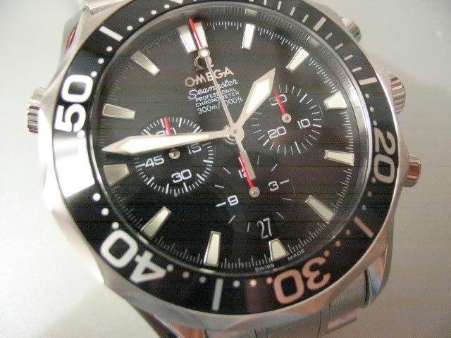 La Montre du Vendredi 10 Novembre 2006 Seamasterchrono