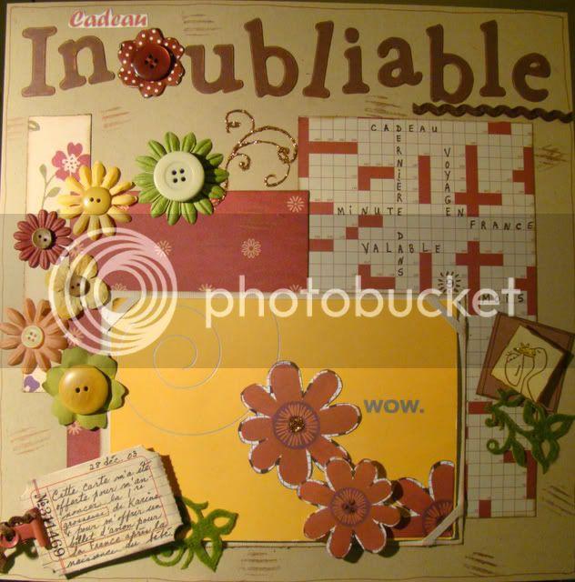 MARS 2009 - INOUBLIABLE Cadeauinoubliable