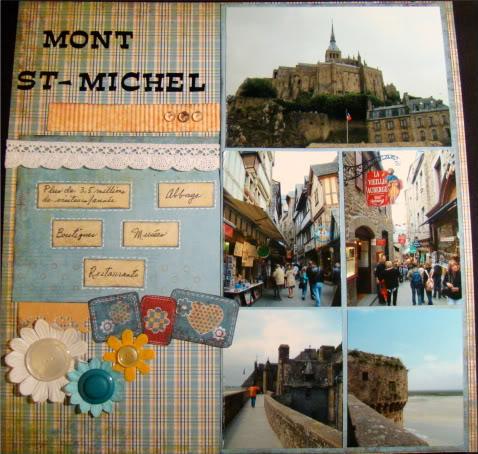 Juillet 2010: Photo Mosaique MontSt-Michel-1