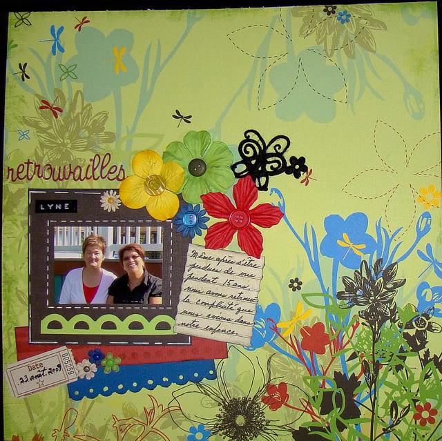 Septembre 2009 - Utilisation d'une photo 2X3 Retrouvailles
