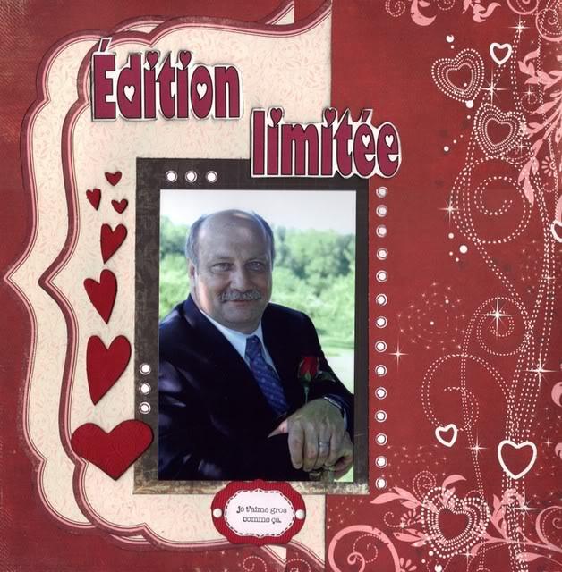 Février 2009 - page monochromatique rouge ou rose Ditionlimite