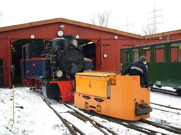 Dampf KleinBahn Museum LokE93_1