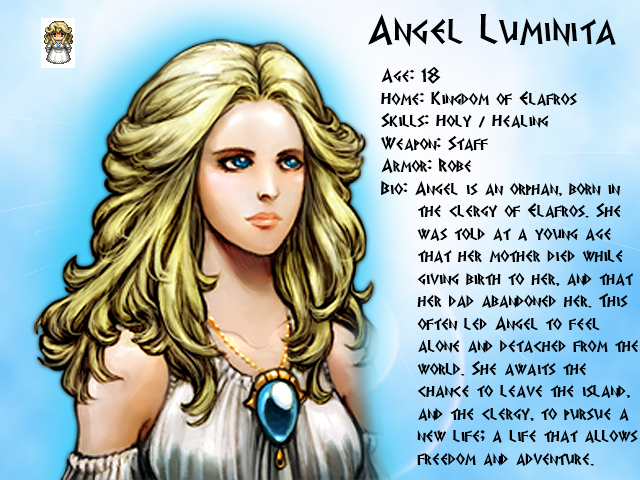 Mythology: Fall of Olympus AngelProfile