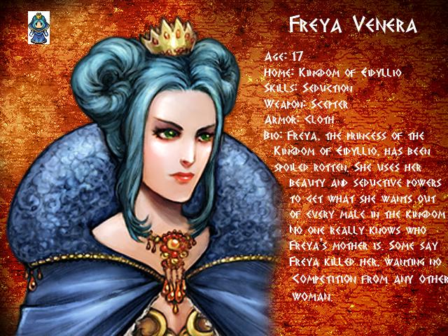 Mythology: Fall of Olympus FreyaProfile