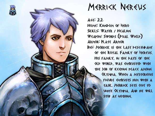 Mythology: Fall of Olympus MerrickProfile