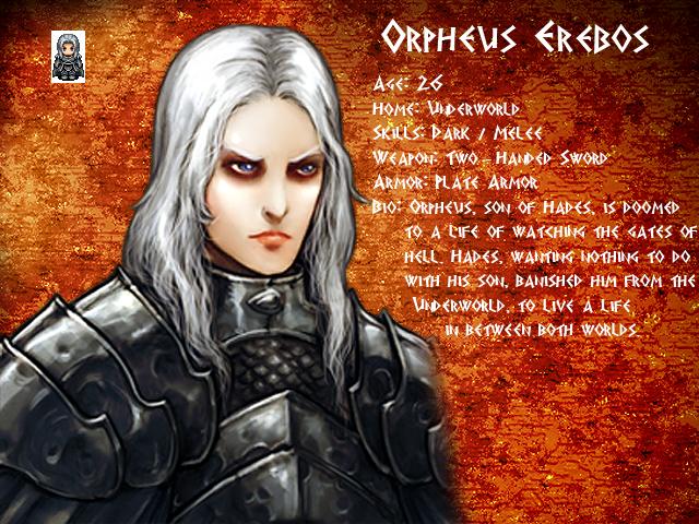 Mythology: Fall of Olympus OrpheusProfile