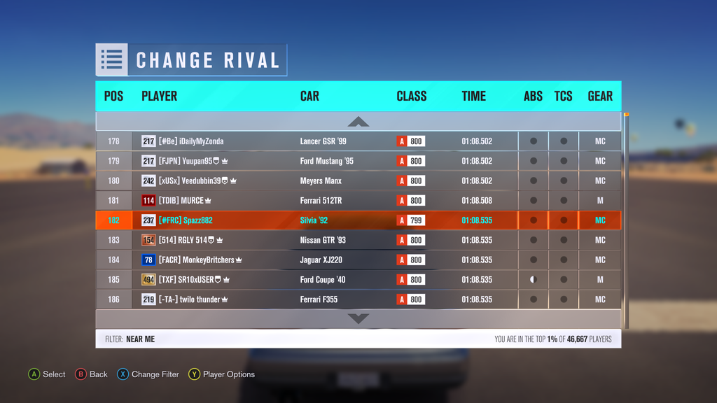 [FH3] MNM Time Attack's - A Lap Through the Forest (RESULTS UP) Race%202%2001_zpshjlxenrn