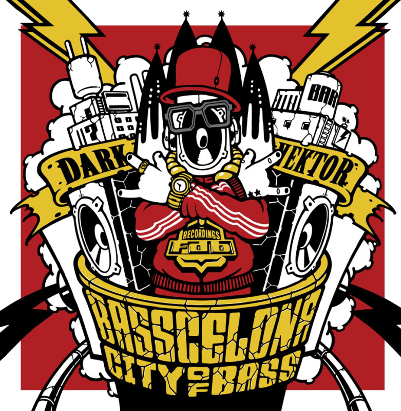DARK VEKTOR_BASSCELONA_CITY OF BASS_FDB RECS Fdb02_8---front-cover
