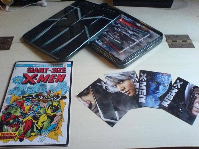 X-MEN 3 : Edition Collector : 29/11/06 Z2 Dsc00482gt3