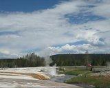 De Grand teton à Glacier en passant par Yellowstone: Partie 2 Yellowstone Th_Fireholerivergeyser