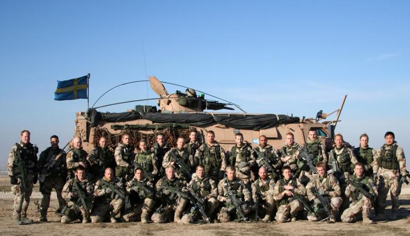 Swedish Armed Forces/Försvarsmakten BQ-plutonsbild