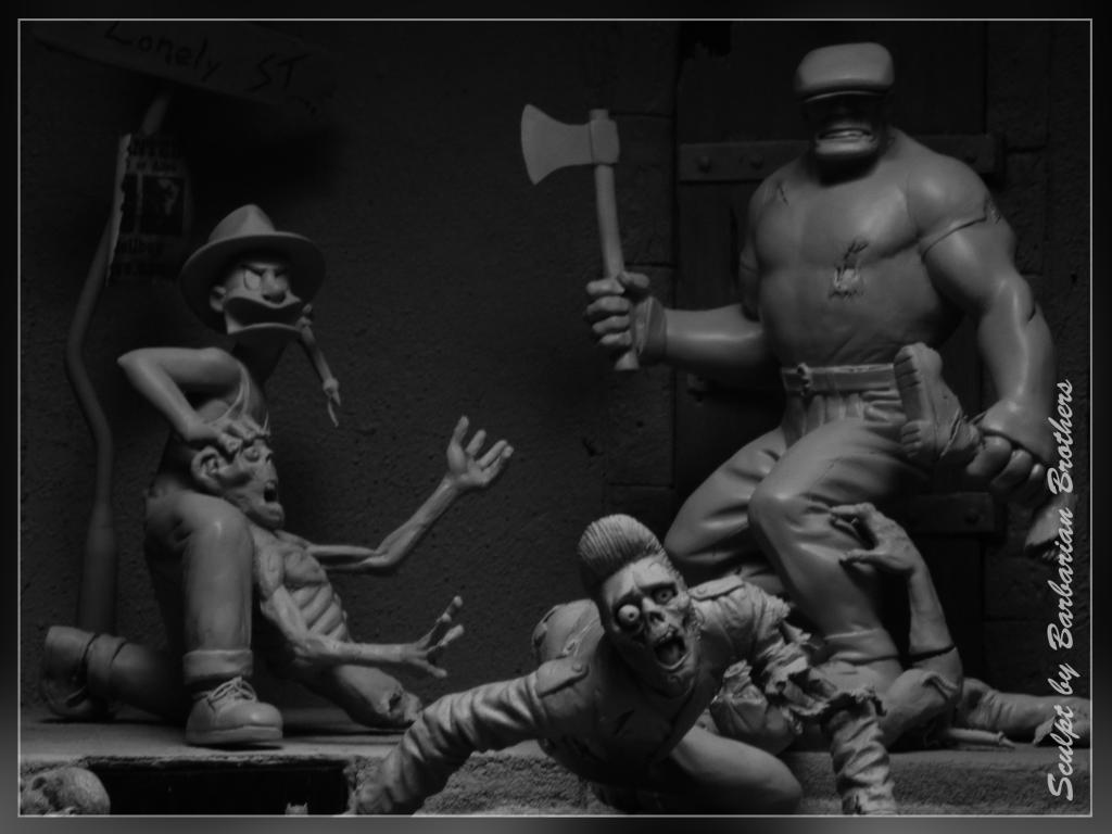 Diorama The Goon 2