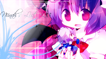 Unconnected Place ~ // Trabalhos gays <3 Placa-touhou_40404
