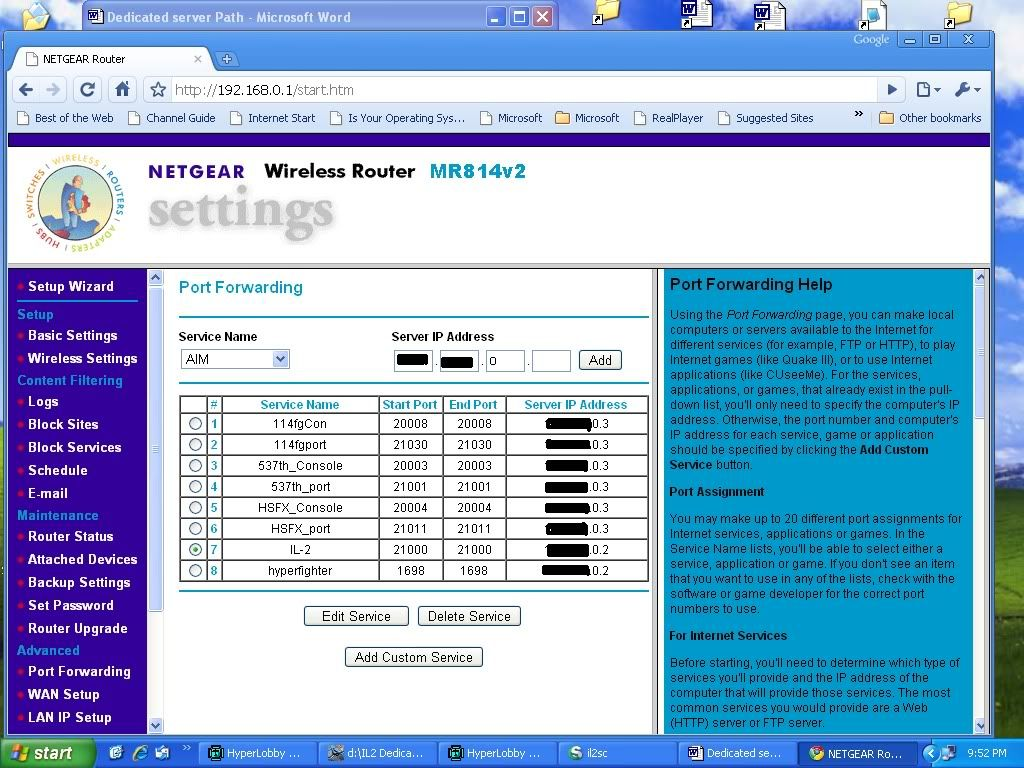 Router Issues RouterSetup1