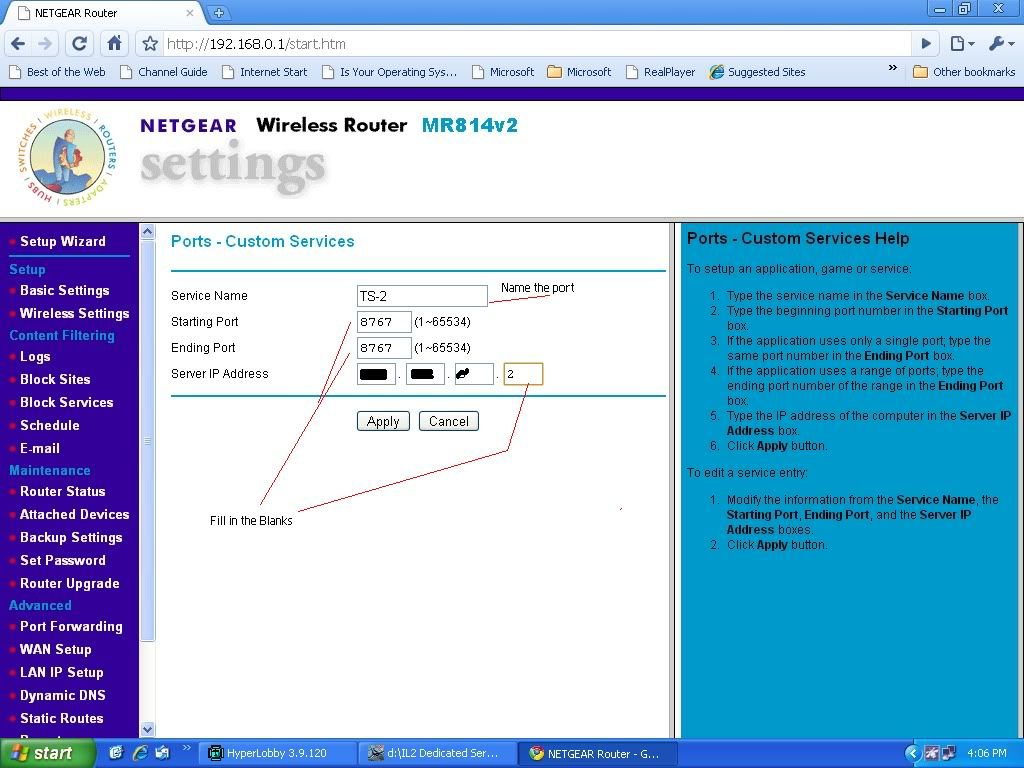 Router Issues RouterSetup3-7