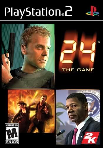 PS2 - 24: The Game 24thegame