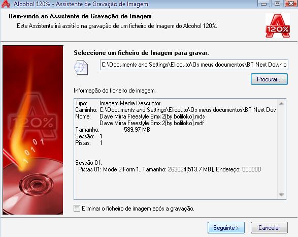 Tutorial e Download de como usar o alcohol 120% para gravar jogos de play 2 7