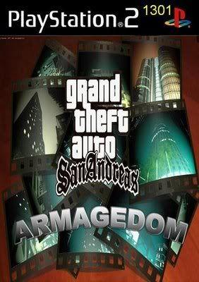 PS2 - Grand Theft Auto Armagedom GTASanAndreasarmagedon
