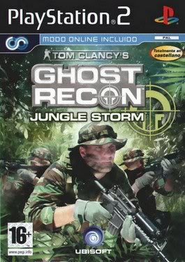 PS2 - Ghost Recon Jungle Storm GhostReconJungleStormps2capa