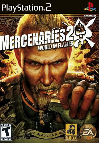 PS2 - Mercenaries 2: World in Flames MERCENARIES2