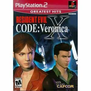 PS2 - Resident Evil X: Code Veronica ResidentEvilCodeVeronicaXPS2