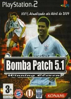 PS2 - Winning Eleven Bomba Patch 5.1 WinningEleven10BombaPatch51
