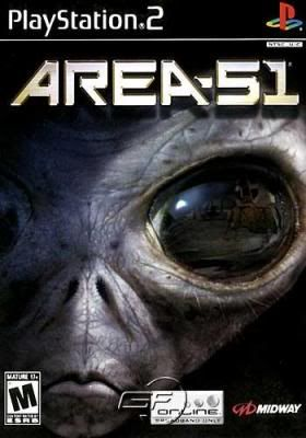 PS2 - AREA 51 Area51game