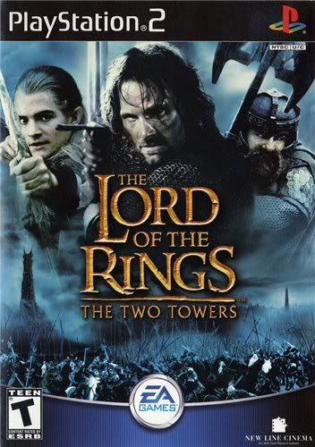 PS2 - The Lord of the Rings: The Two Towers Asduastorres