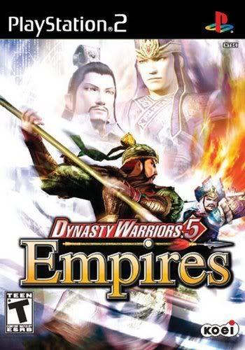 Ps2 - Dynasty Warriors 5 Empires Dinastywarriors5