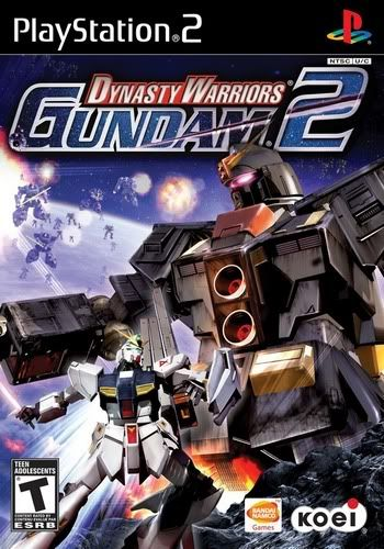 PS2 - Dynasty Warriors: Gundam 2 Dynastywarriorsgundan2